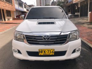 Toyota Hilux 2014 Blindada AT